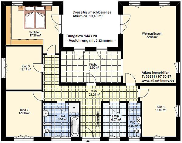 Winkelbungalow Ab 130 M² Wohnfläche Winkelbungalow Neubau
